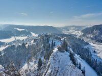 Jura Parc régional enneigé