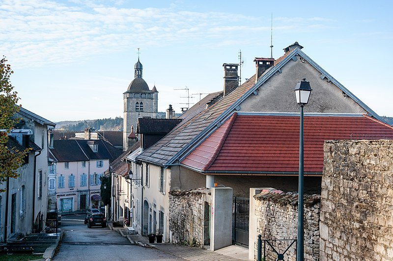 Jura village d'Orgelet