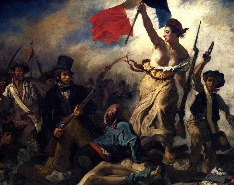 La liberté guidant le peuple Louvre
