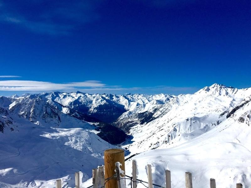 la mongie Pyrénées ski hors piste