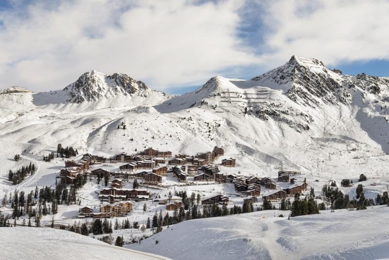 La Plagne station de ski alpes reveillon jour de l an