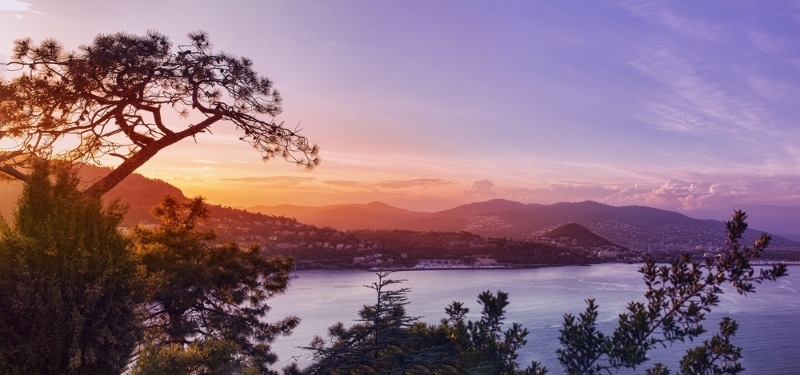 loger autour de Cavalaire sur Mer, panorama Côte d'Azur