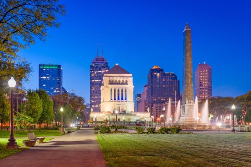 Où loger à Indianapolis - Foutain square