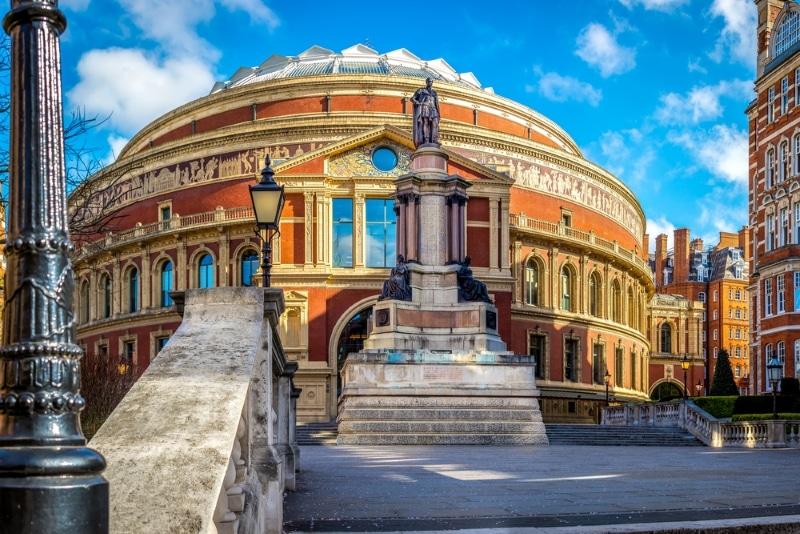 Londres gratuit - spectacles Royal Albert Hall