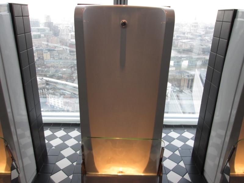 Londres The Shard toilettes