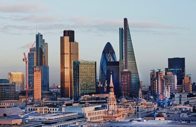 Londres vue de The Shard