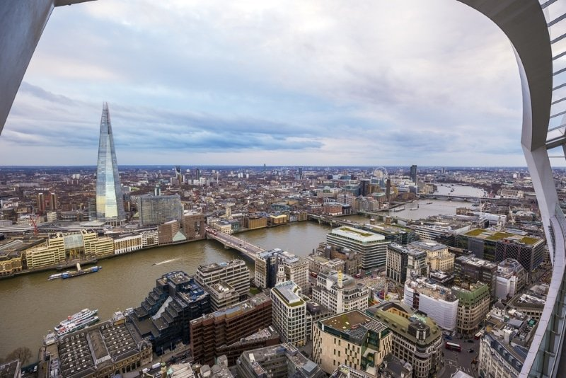 Londres vue Sky Garden