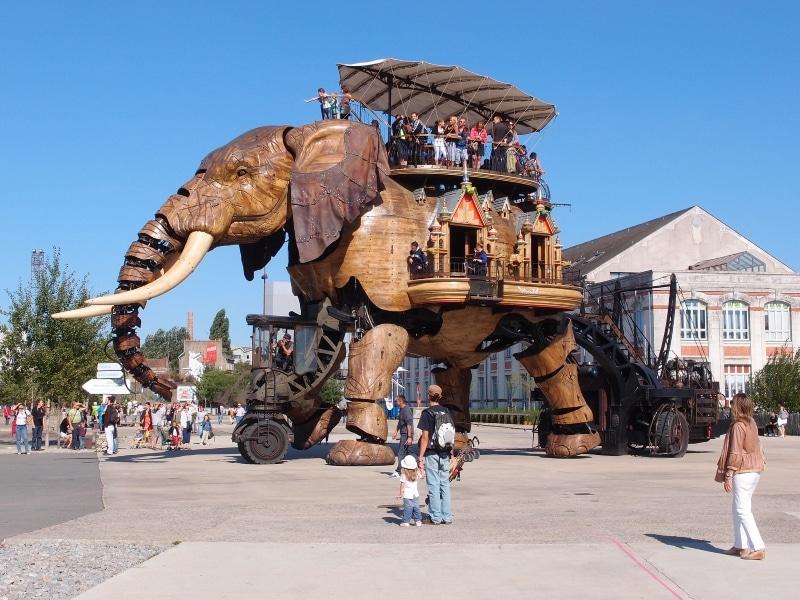 Machines de l'Ile de Nantes - L'Eléphant