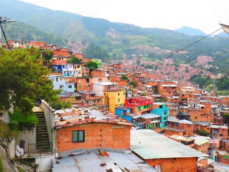 Medellin Colombie - Comuna 13