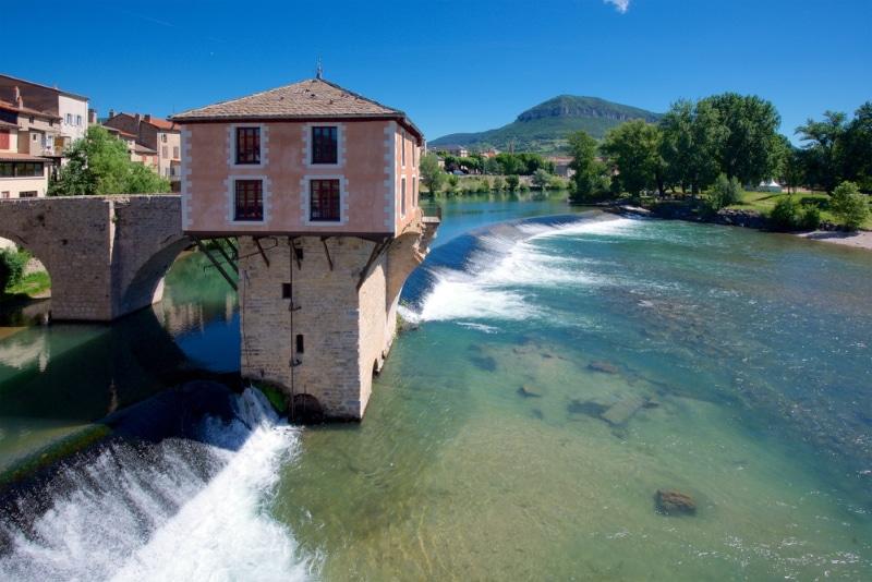 Vieux Millau rivière