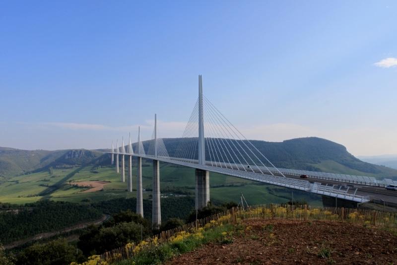 Viaduc de Millau vue