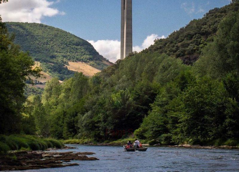 Faire du bateau à Millau