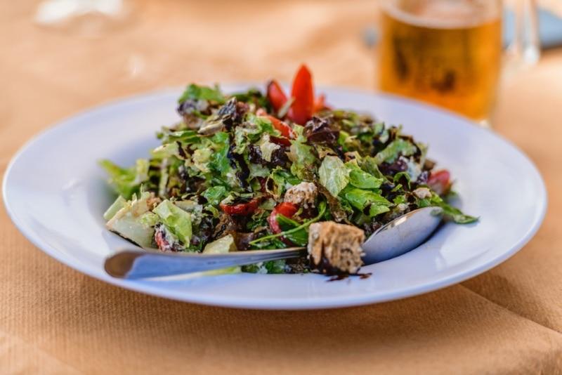 nourriture Paros Grèce