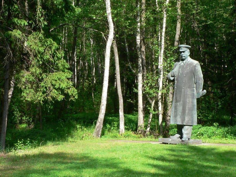 Parc de Gruto - Lithuanie - Statue de Staline