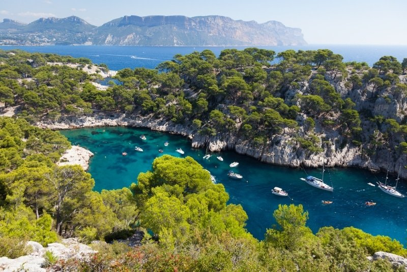 Parc national France Calanques