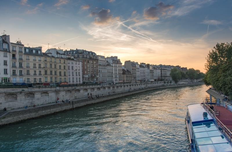 Paris gratuit - visite des quais de seine