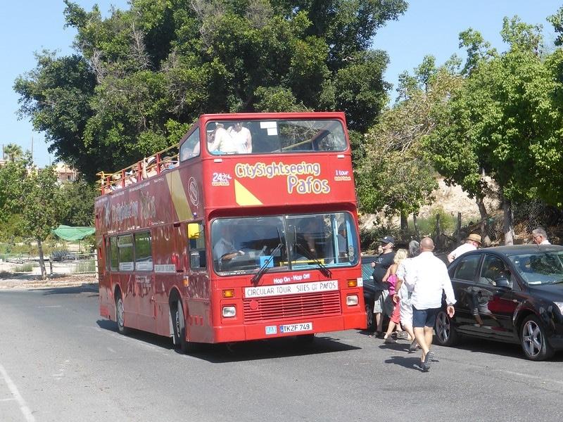 Paros en bus - Se déplacer