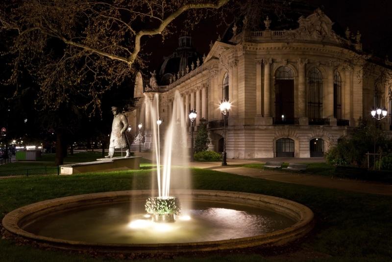 Petit Palais de Paris fontaine