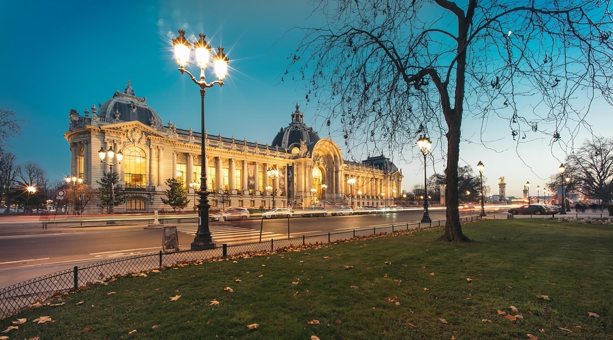 Petit Palais à Paris vue panoramique