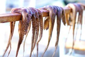 poulpes meilleurs restaurants Île de Paros