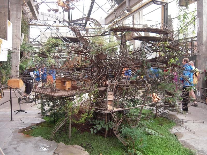 Prototype de l'arbre aux hérons - Machine de l'Ile de Nantes