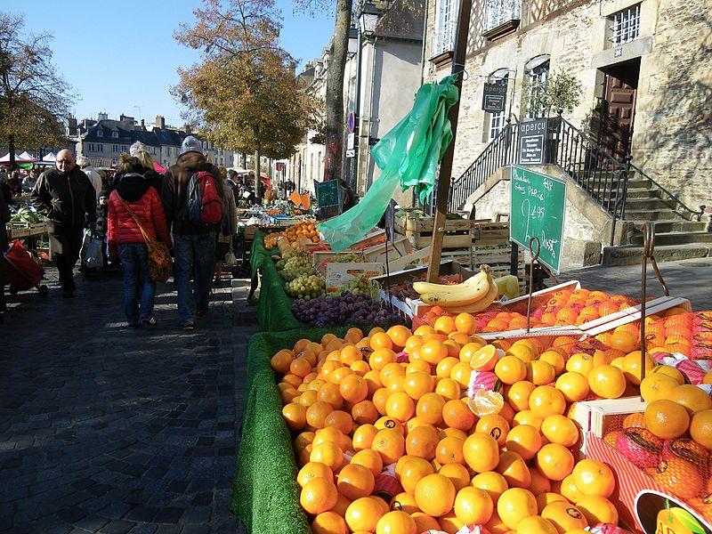 Rennes Marché de la Place des Lices