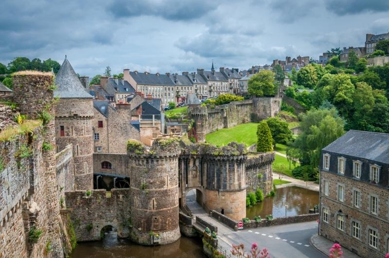 Rennes / ville médiévale de Fougeres