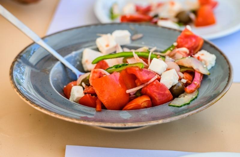 restaurant salade Paros salade