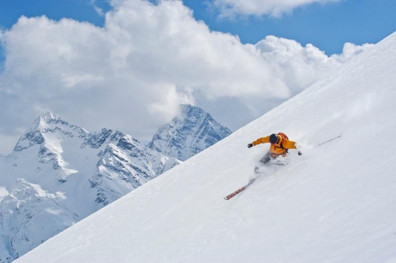 ski hors piste alpes Alagna Valsesia italie