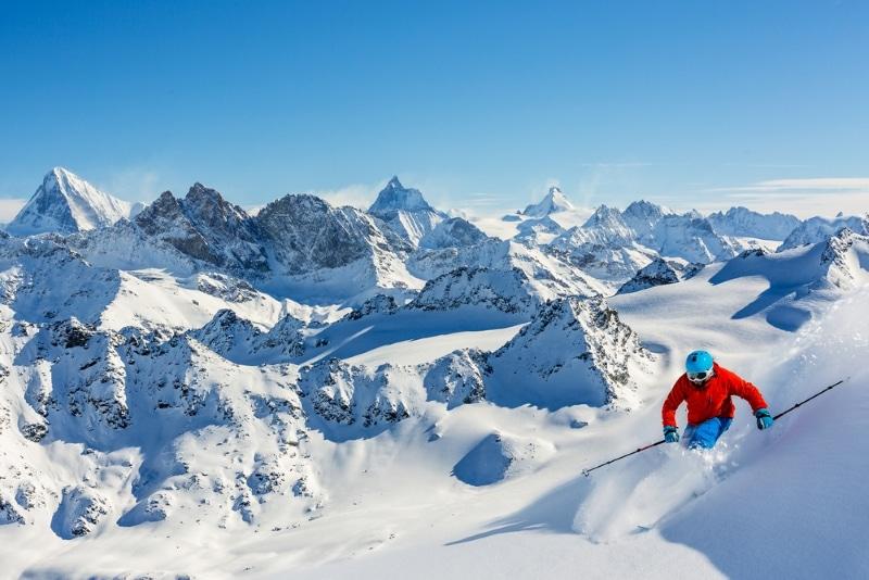 Ski hors piste Alpes - Verbier en Suisse