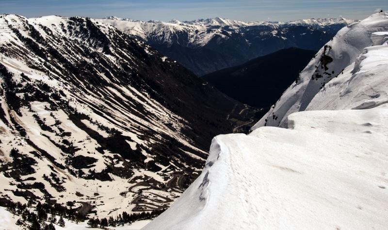Ski montagnes Pyrénées dans le Val d'Aran