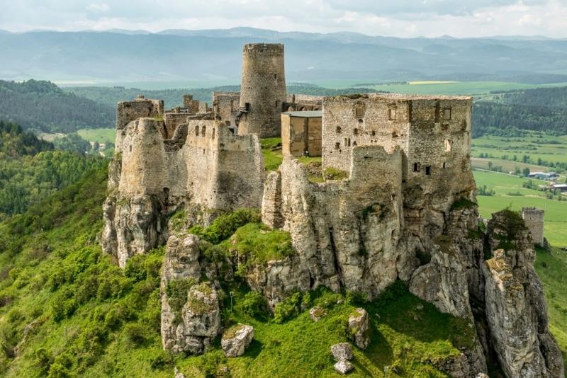 Slovaquie château de Spiš