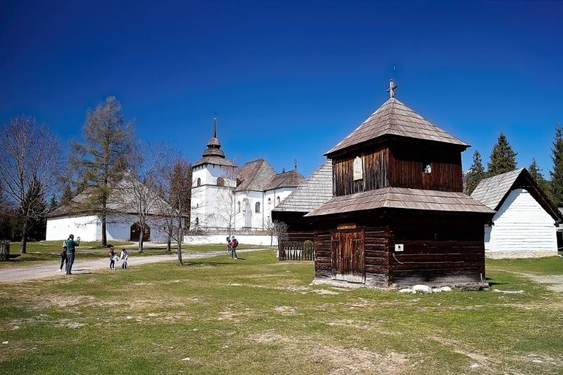 Slovaquie Liptov village-musée