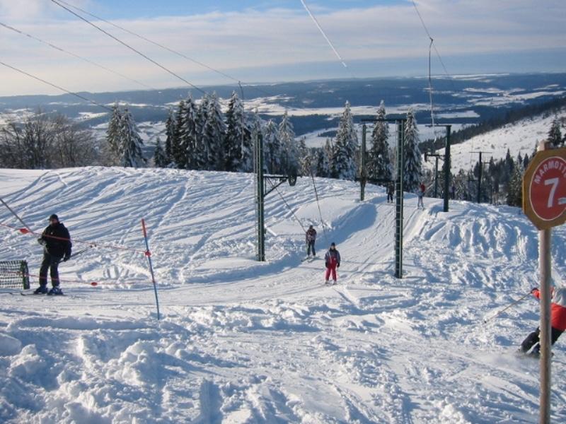 station de ski Métabief dans le Jura