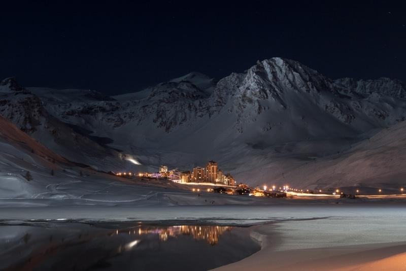 station de ski nouvel an Tignes