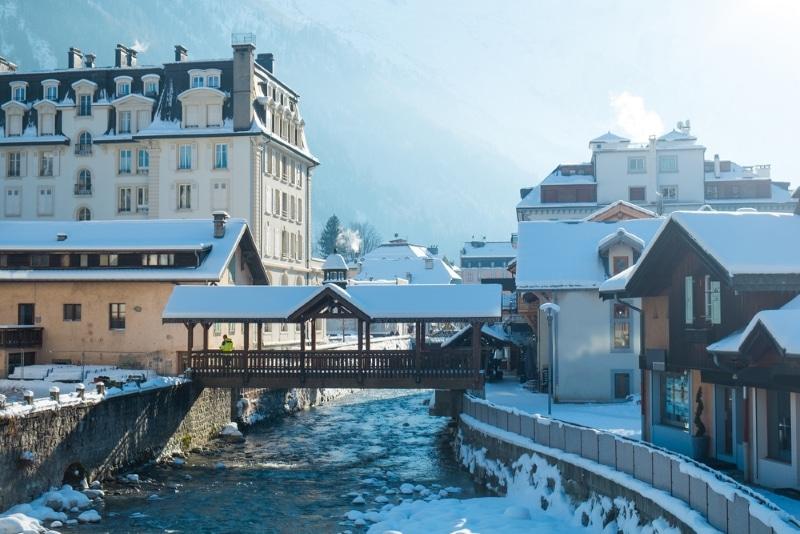 station ski hiver chamonix