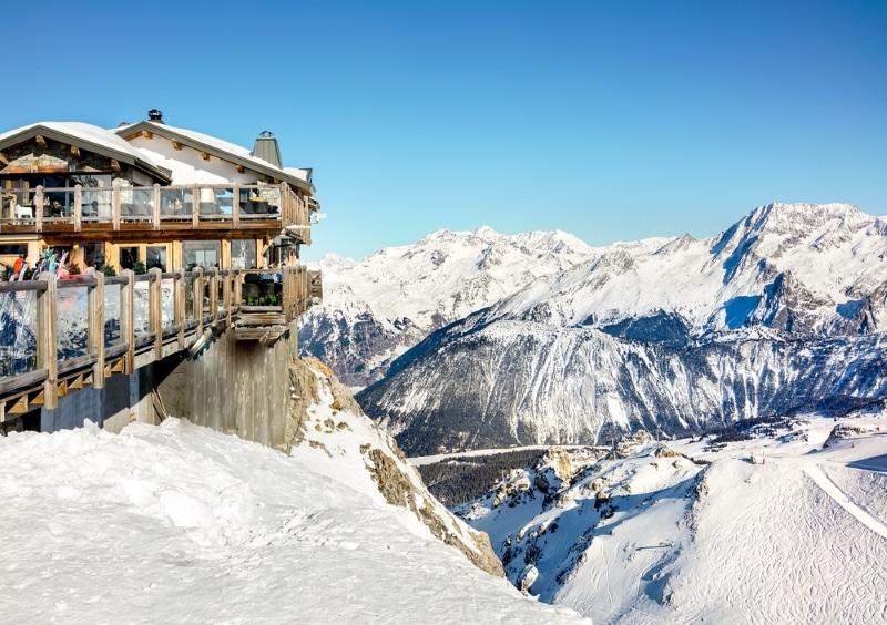 station de ski pour le nouvel an Courchevel