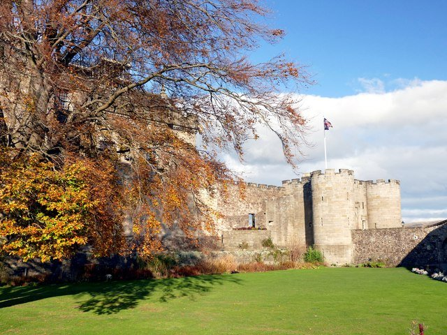 Stirling jardins de la Reine Ann