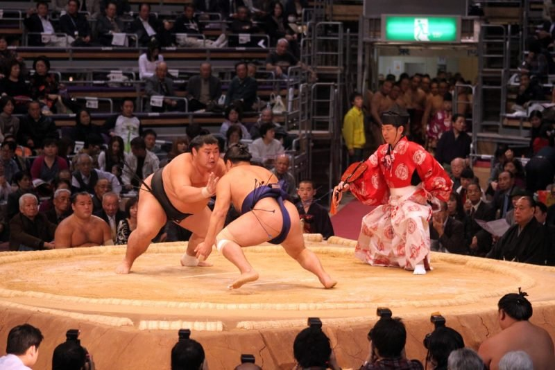 COmbat de sumos à Fukuoka