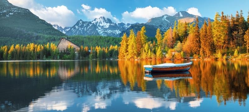 visiter Slovaquie - Tatras, lac montagnes