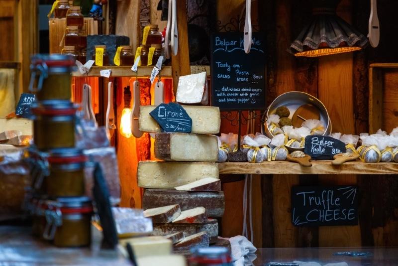 visites gratuites à Londres - les marchés