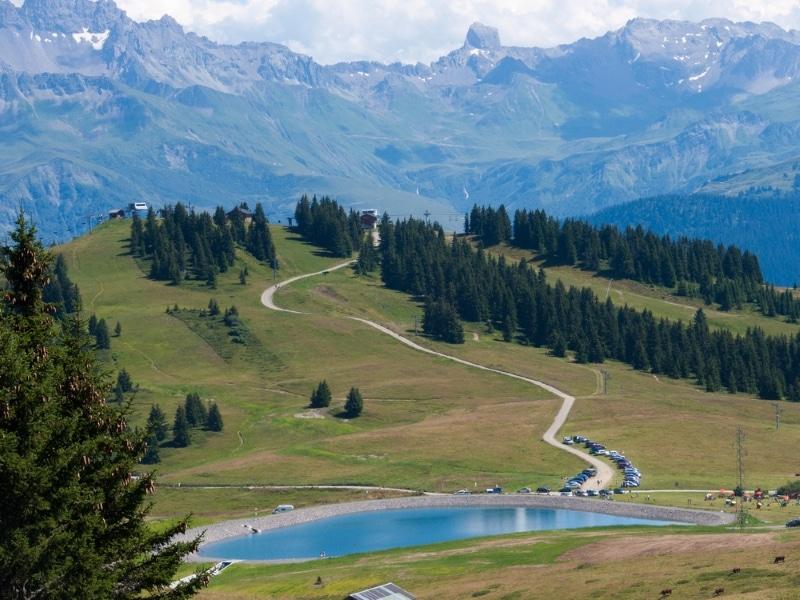 vtt dans les Alpes - Les saisies