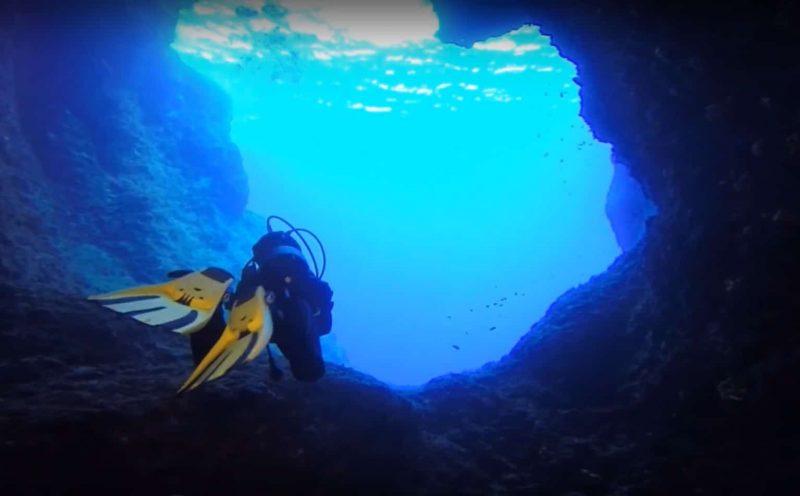 Plongée à Panderonisi, Grèce