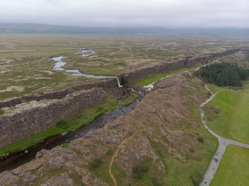 Thingvellir Islande - Plaine du Parlement