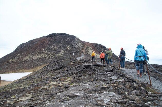 Visite de l'intérieur du volcan Thrihnukagigur en Islande : billets, tarifs, horaires