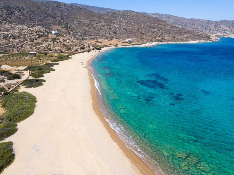 anafi plage et randonnées