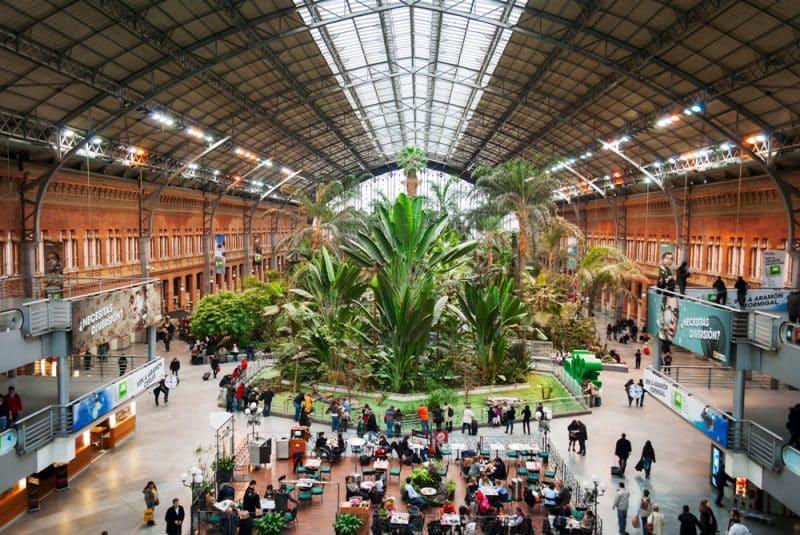 Gare d'Atocha, Madrid