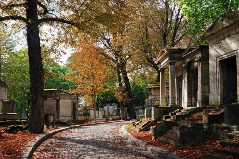 Automne cimetière du Père-Lachaise