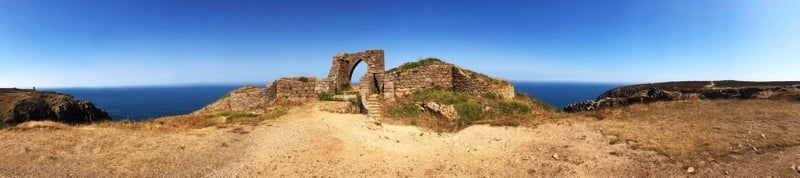 baie saint ouen ruines chateau