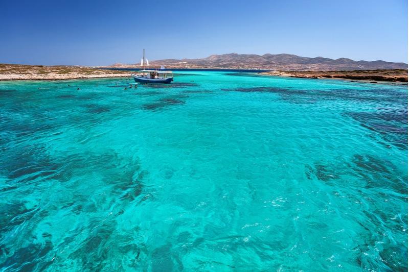 Tour de bateau à Antiparos